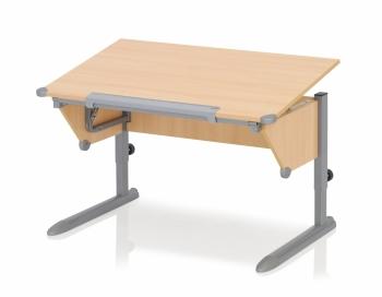 Kettler Schreibtisch Cool Top II - Buche / Silber