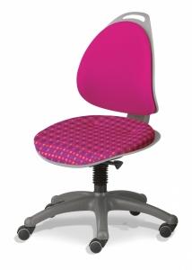 Kettler Kinderdrehstuhl Berri - Karo / Pink