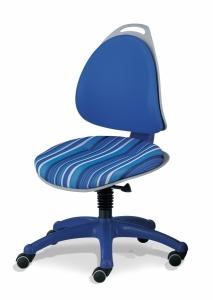 Kettler Kinderdrehstuhl Berri - Blaugestreift / Blau
