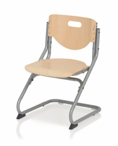 Kettler Kinderstuhl Chair Plus - Buche / Silber
