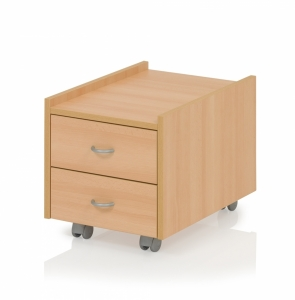Kettler Rollcontainer Basic Sit On - Buche