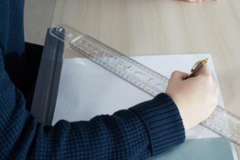 Kettler Multifunktion Lineal - Lineal 45 cm
