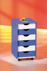 Inter Link Rollcontainer BEPPO blau