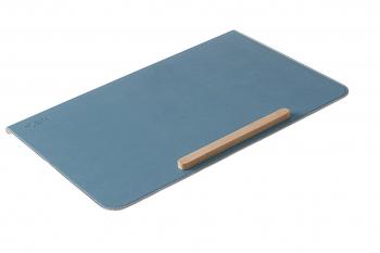 Flexa Schreibtischunterlage Frosty Blue- mit Antirutschleiste