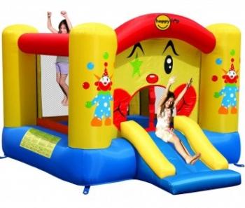 Hüpfburg HappyHop Clown 6,5 m² mit Rutsche inkl. Gebläse SW-1,5