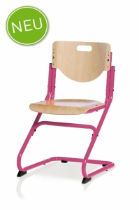 Kettler Kinderstuhl Chair Plus - Buche / Pink