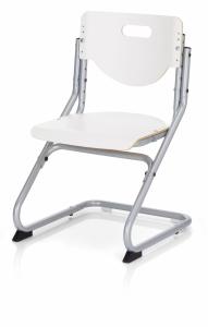 Kettler Kinderstuhl Chair Plus - Silber / Weiß