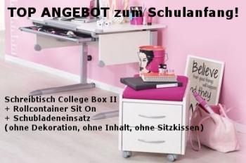 Super Angebot Kettler Schreibtisch Set College Box Ii Sit On Und