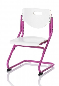 Kettler Kinderstuhl Chair Plus White - Weiß / Pink