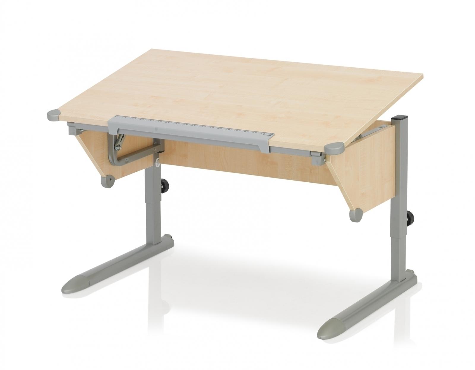 Kettler Schreibtisch Cool Top Ahorn Silber