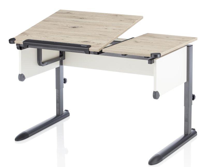 Kettler Schreibtisch Kids Comfort Eiche Anthrazit