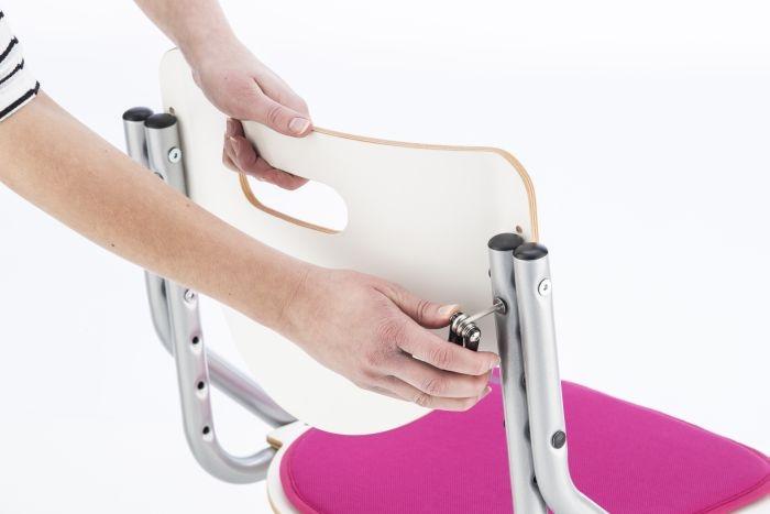kettler kinderstuhl chair plus buche silber. Black Bedroom Furniture Sets. Home Design Ideas