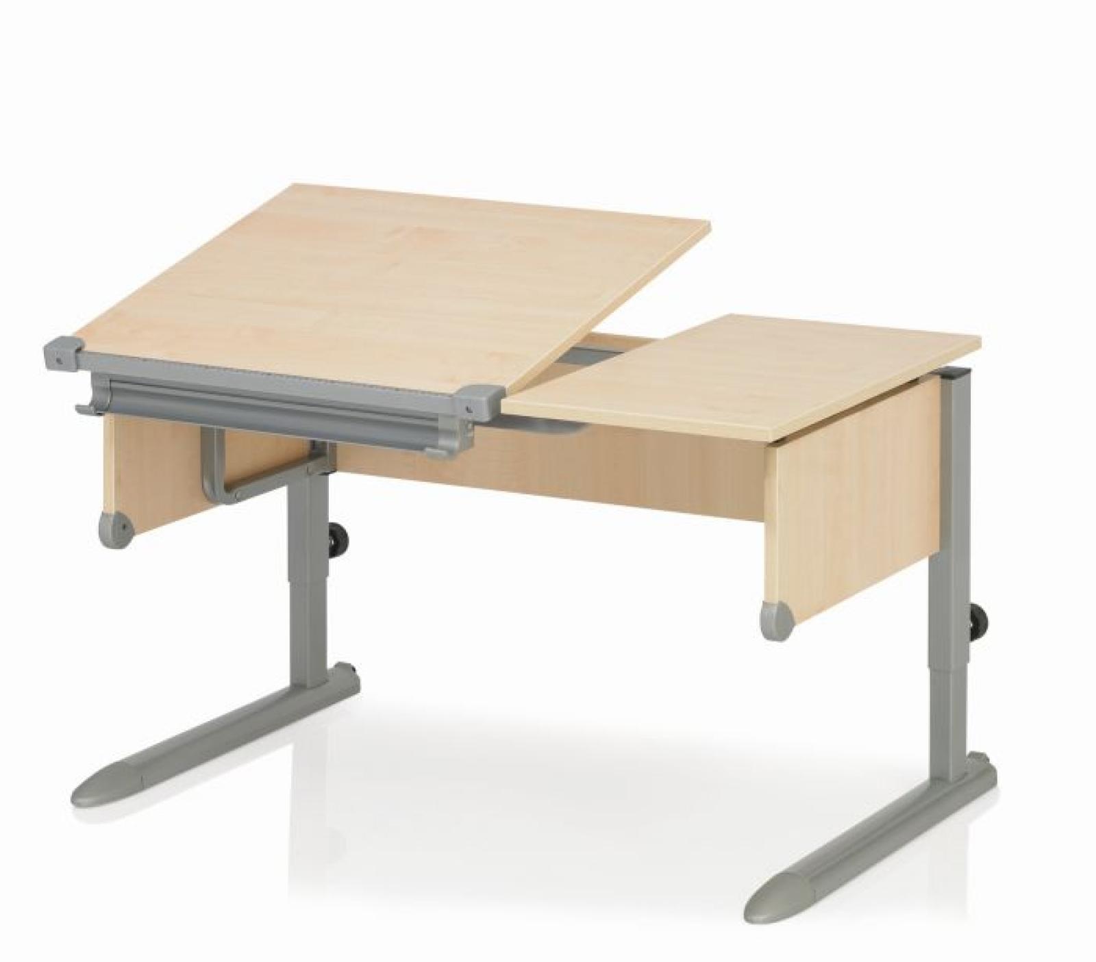 Kettler schreibtisch comfort ii ahorn silber for Schreibtisch ahorn