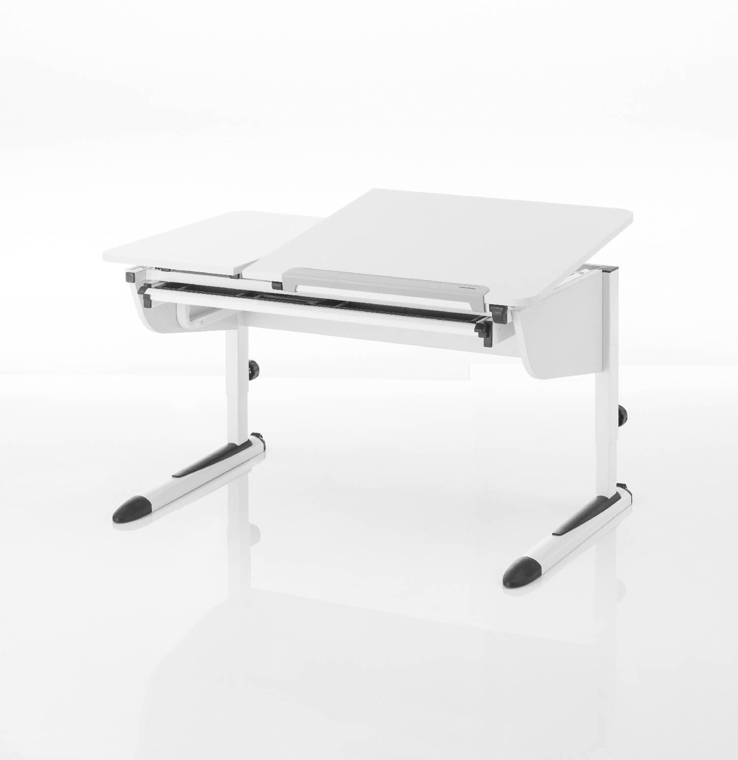 kettler schreibtisch logo duo ii eiche wei wei. Black Bedroom Furniture Sets. Home Design Ideas