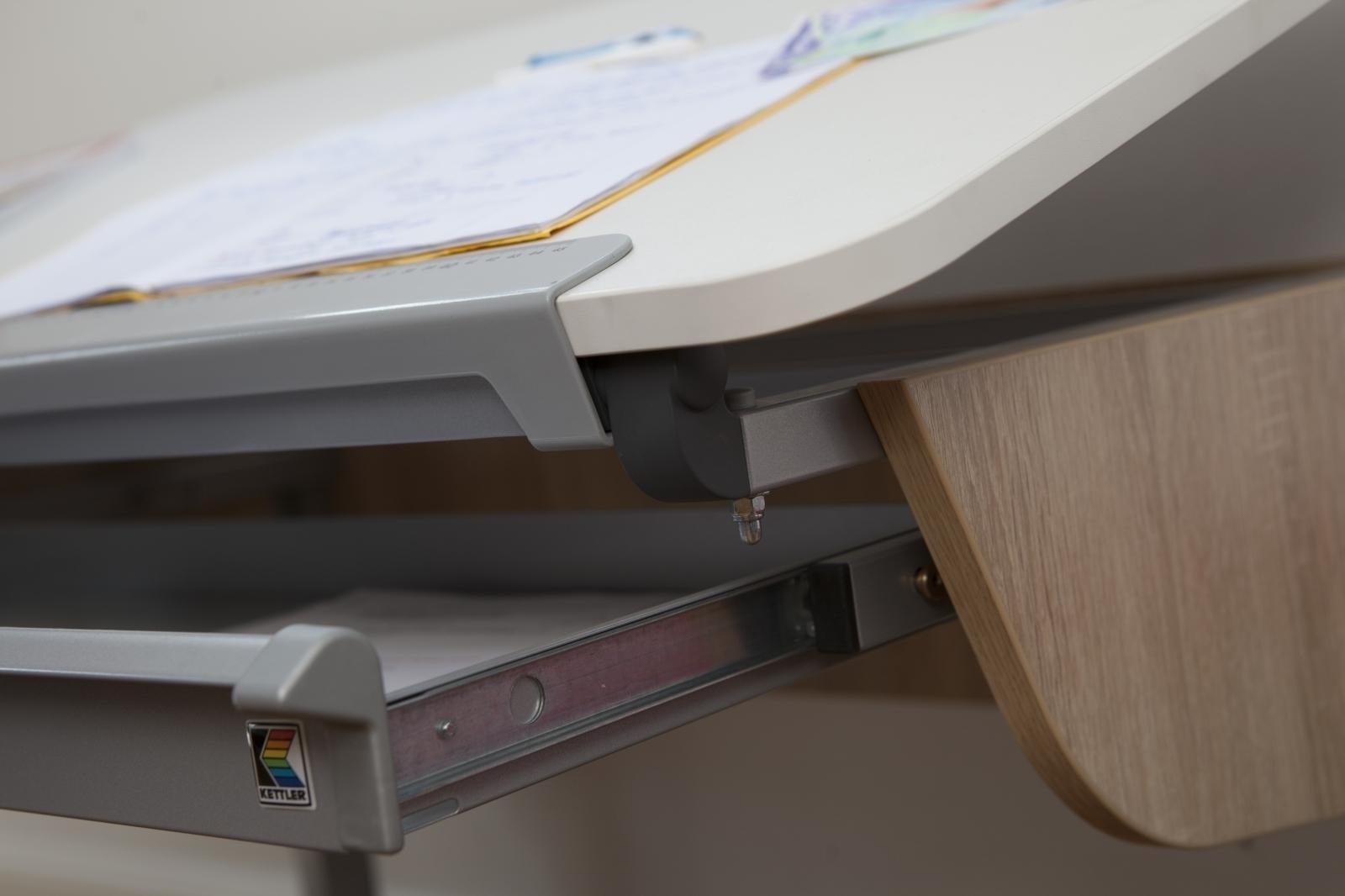 Kettler Schreibtisch College Box Ii Weiß Pink
