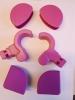 Kettler Kantenschutz pink/lila für Comfort II, School II
