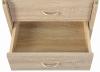 Rollcontainer Novi für Schreibtisch Eiche Nachbildung - Interlink Schubladenschrank
