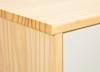 Rollcontainer Gudjam für Schreibtisch weiss - Interlink Schubladenschrank Milky Skin