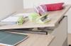 Kettler Schreibtisch Comfort II - Ahorn / Silber