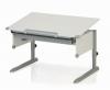Kettler Schreibtisch College Box II - Weiß / Silber