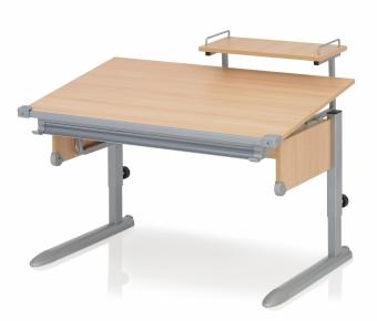 Kettler Schreibtisch School II - Buche / Silber