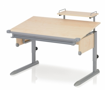 Kettler Schreibtisch School II - Ahorn / Silber