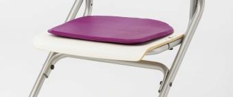 Kettler Sitzkissen - Softex lila - für den Stuhl Chair Plus
