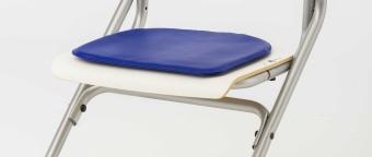 Kettler Sitzkissen - Softex Blau - für den Stuhl Chair Plus