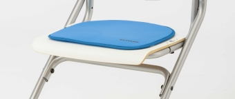 Kettler Sitzkissen hellblau - für den Stuhl Chair Plus