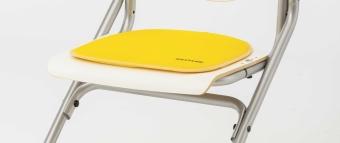 II. Wahl - Kettler Sitzkissen gelb- für den Stuhl Chair Plus