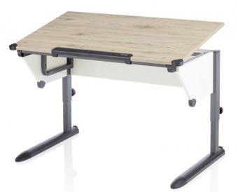 II. Wahl - Kettler Schreibtisch Kids Cool Top Eiche / Anthrazit