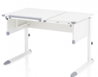 II. Wahl - für BASTLER - Kettler Schreibtisch Kids Comfort weiss / weiss