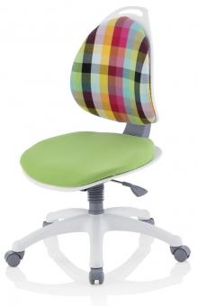 Kettler Kinder Drehstuhl Berri Colored Plaid Schreibtischstuhl