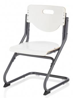 Kettler Kinderstuhl Chair Plus White - weiss anthrazit
