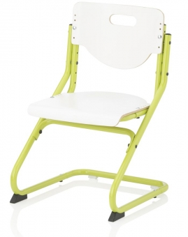 Kettler Kinderstuhl Chair Plus White - Weiß / Grün