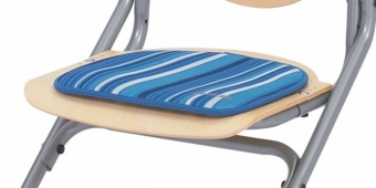 Kettler Sitzkissen - Blau gestreift - für Chair Plus