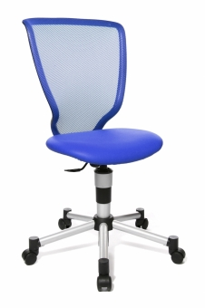 Topstar Drehstuhl Titan Junior - Farbe: Blau