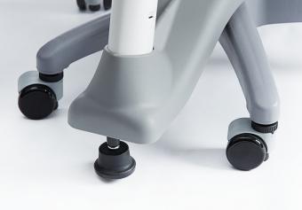 Flexa Drehstuhl Novo Mountain Grey - Schreibtischstuhl für Kinder und Erwachsene