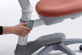 Flexa Drehstuhl Novo Misty Rose - Schreibtischstuhl für Kinder und Erwachsene