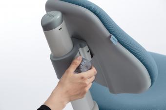 Flexa Drehstuhl Novo Frosty Blue - Schreibtischstuhl für Kinder und Erwachsene