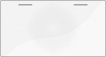 Flexa Schreibtischauflage transparent für Flexa School Schreibtisch