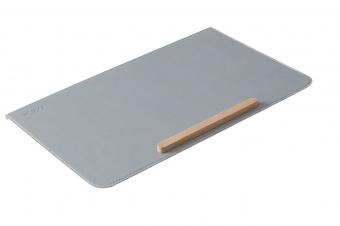 Flexa Schreibtischunterlage Mountain Grey - mit Antirutschleiste