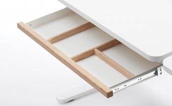 Flexa Schublade für Schreibtisch Moby - Eiche /Weiss Schreibtischschublade