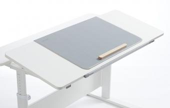 Flexa Study Kinderschreibtisch Evo II - geteilte Schreibtischplatte - weiss