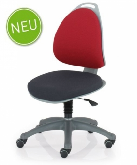 Kettler Kinderdrehstuhl Berri - Rot/Schwarz