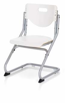Kettler Kinderstuhl Chair Plus White - Weiß /Silber