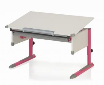Kettler Schreibtisch College Box II - Weiß / Pink