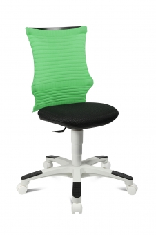 Topstar Kinderdrehstuhl S´neaker - Drehstuhl schwarz - grün