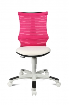 Topstar Kinderdrehstuhl S´neaker - Schreibtischstuhl weiss - rosa