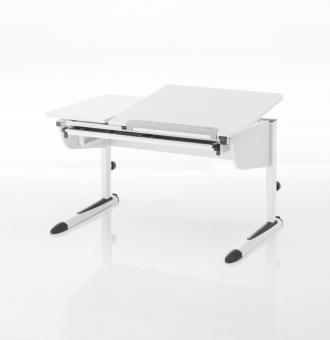 Kettler Schreibtisch Logo Duo II - Weiß /Weiß